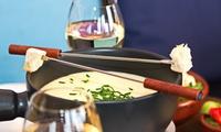 Käse- oder Fleisch-Fondue für 2 Personen im Watergate Cafe I Bar I Restaurant (bis zu 34% sparen*)