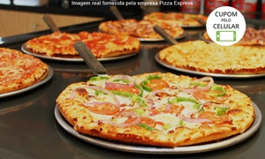 Pizza Express: Pizza Express: buffet de pizza em domicílio para 30 ou 50 pessoas