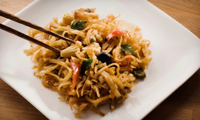 Eest Asian Bistro - Las Palmeras West: Asian Cuisine at Eest Asian Bistro (Half Off). Two Options Available.