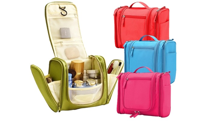 Think Global General Trading: Water-Resistant Multi-Pockets Toiletry Organiser in Choice of Colour from AED 59 (Up to 74% Off)