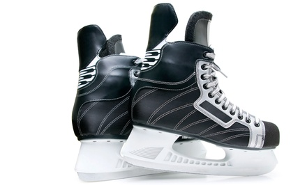 $11 for an Ice-Skating Package for Four at Patterson Ice Center (Up to $28 Value)