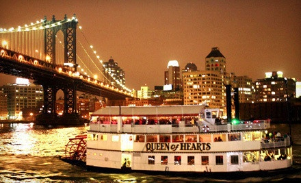 Evening Dance-Party Cruise on the Hudson River for 1, 2, 4, or 10 from Affairs Afloat (Up to 70% Off)