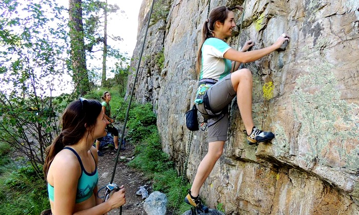 Adventure Forever - North Conway: $59 for Full-Day Introductory Rock Climbing Experience from Adventure Forever ($160 Value)