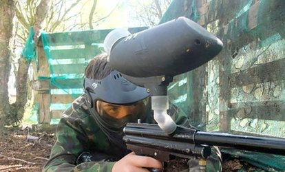 Skirmish Paintball: Play With 100 Paintballs For Five from £5 (93% Off)