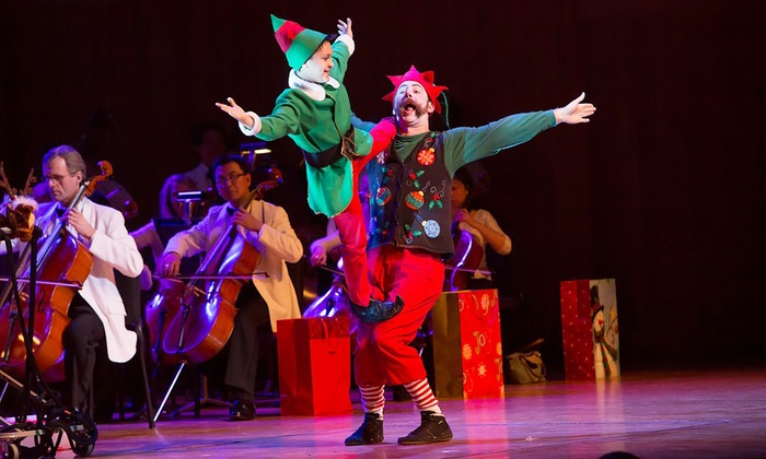 Cirque Musica Holiday - Rosemont Theatre: Cirque Musica Holiday Spectacular on Saturday, December 12, at 7:30 p.m.
