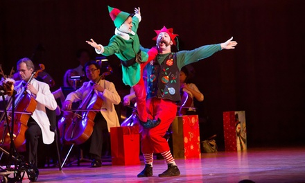 Cirque Musica Holiday Spectacular at Abbotsford Centre on December 17 at 7:30 p.m. (Up to 36% Off)