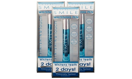 2 or 3 Pack of Finishing Touch Smile Whitening Pens
