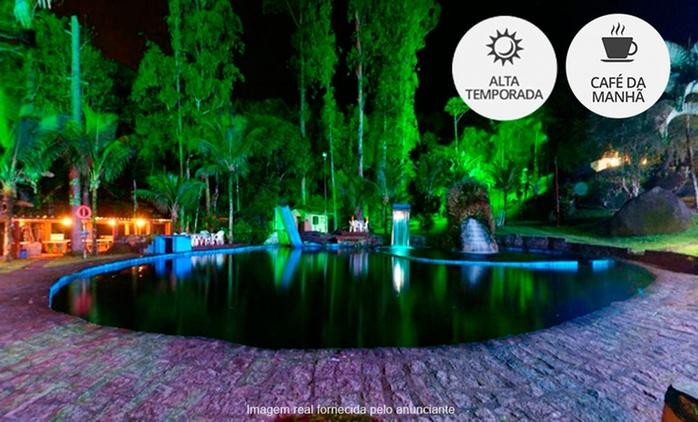 Ubatuba/SP: até 10 noites para 2 + café da manhã na Pousada das Cachoeiras.