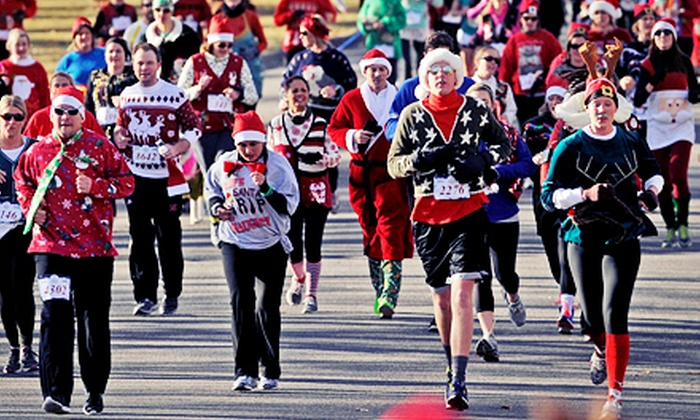 The Ugly Sweater Run - City Park: $20 for The Ugly Sweater Run 5K on Saturday, December 21 ($39 Value)