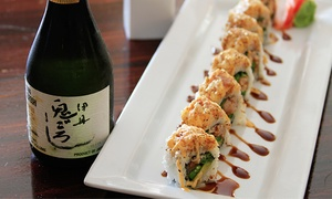 Yuki Hana: Japanese Fusion Cuisine for Two or More or Private Karaoke for Up to 20 at Yuki Hana (Up to 50% Off)
