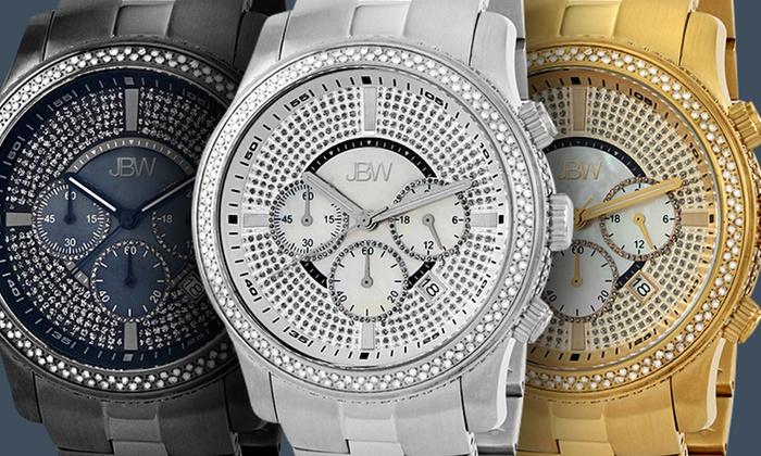 JBW Men's Diamond-Accented Watches: JBW Saxon and Vanquish Men's Diamond-Accented Watches. Multiple Styles from $429.99—$499.99. Free Returns.