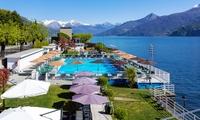Lago di Como, Grand Hotel Britannia Excelsior- 1 notte in camera Comfort in All inclusive, piscine e spiaggia per 2 pers