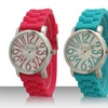 Silicone Unisex Watch with Wild Numbers