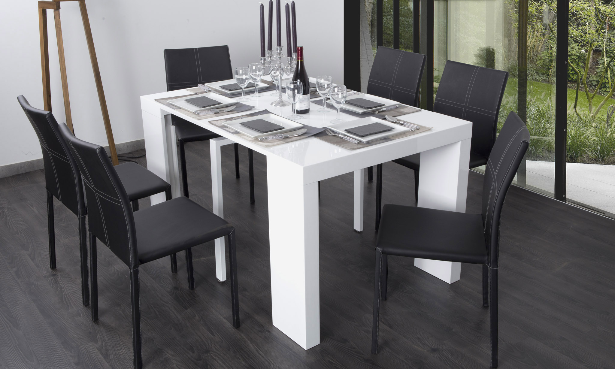 Console extensible groupon images - Table extensible 12 personnes ...