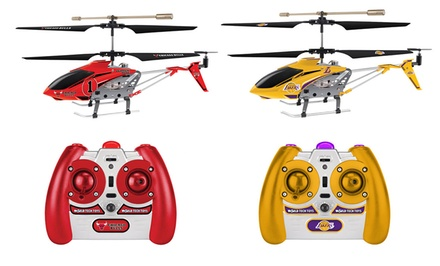 World Tech Toys NBA 3.5-Channel Remote-Control Helicopter