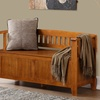 Acadian Entryway Bench in Light Avalon Brown