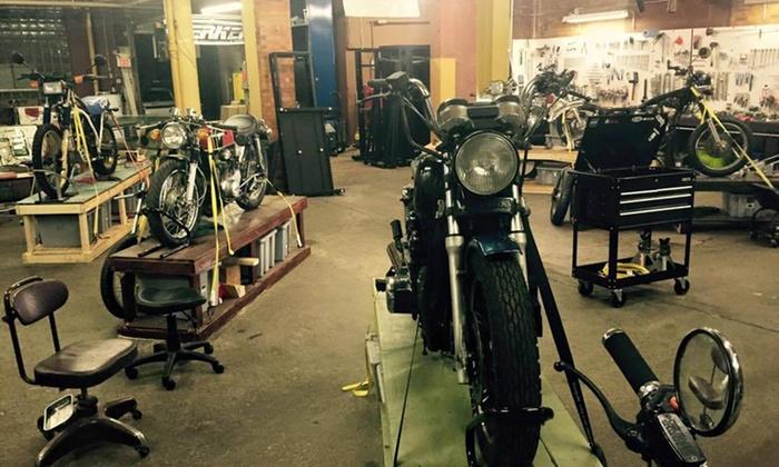 Skidmark Garage - Ohio City: $43 for $100 Groupon — Skidmark Garage