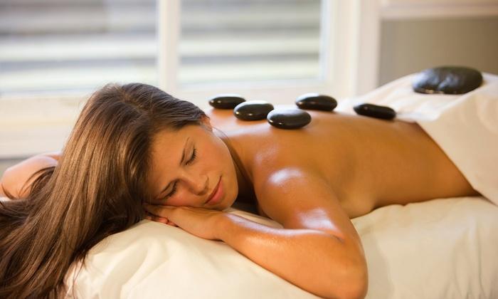 Pavilion Salon & Spa - O'Hare: $35 for a 60-Minute Hot-Stone Massage at Pavilion Salon & Spa ($75 Value)