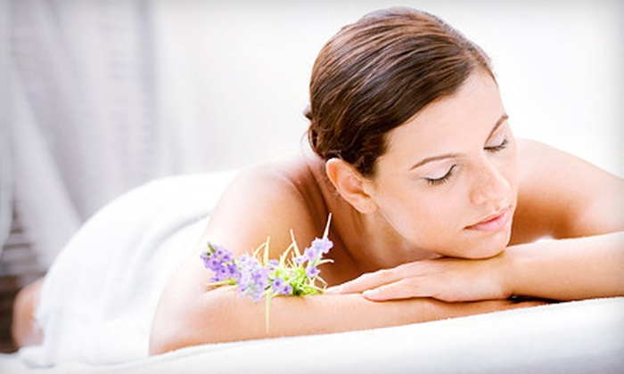 The Wellness Center of London Square - The Wellness Center of London Square: Holiday Spa Package with Massage and Choice of Facial or 60-Minute Swedish or Deep-Tissue Massage (Up to 63%  Off)