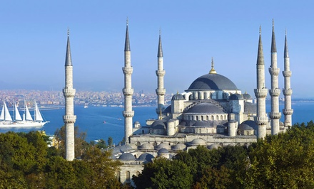 groupon daily deal - 8-Day Tour of Turkey with Airfare and 4-Star Hotels from Friendly Planet Travel. Price/Person Based on Double Occupancy.