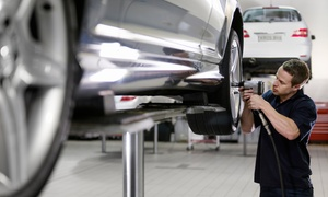 Value Tyre & Fitment: Wheel Alignment & Battery Test from R129 with Optional Car Fitments with Value Tyre & Fitment Group (Up to 73% Off)