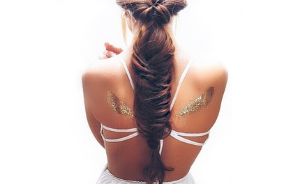Temporary Flash Metallic Tattoos from R99 at Regnif (Up to 54% Off)