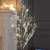 4' Tall LED Snow Tree