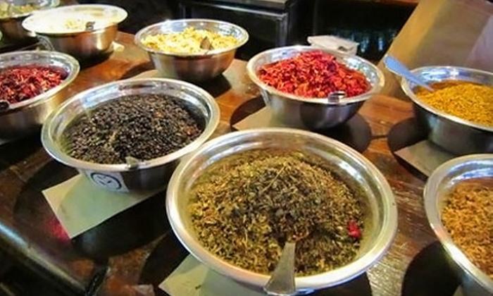Shanti Tea - Centretown - Downtown: $29 for a Women's-Health Tea-Blending Workshop for Two from Shanti Tea ($60 Value)