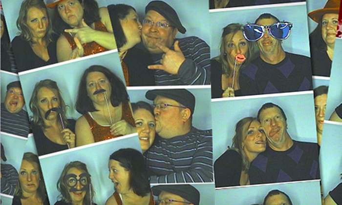 Moore Memories Photo Booth - Greenwood: Three- or Six-Hour Photo-Booth Rental from Moore Memories Photo Booth (Up to 63% Off)