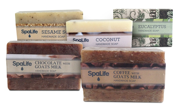 MySpaLife All-Natural Handmade Soap Bars (2-Pack)