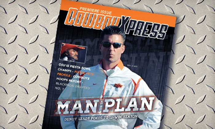 """""""Cowboy Xpress"""" Magazine: $15 for One-Year Subscription to """"Cowboy Xpress"""" Magazine ($29.95 Value)"""