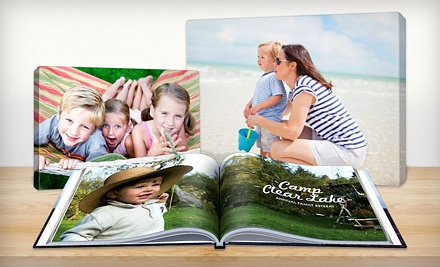 $19 for $70 Worth of Customizable Photo Books, Canvas Prints, Collage Posters and Enlargements from Picaboo