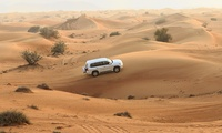 4x4 Al Awir Desert Safari or Red Dunes Safari for One or Two with FAHMS International Travel & Tourism (Up to 37% Off)