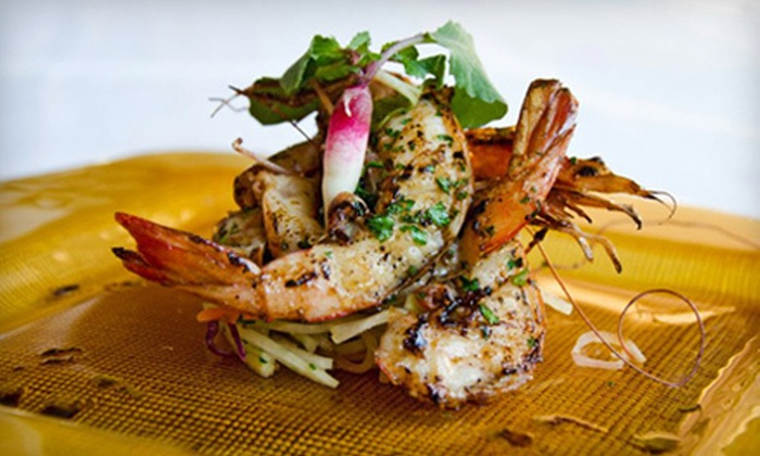Poms Signature Restaurant - Windy Hill: $20 for $40 Worth of Upscale Thai Fusion Cuisine on a Monday–Thursday or Friday–Saturday at Poms Signature Restaurant