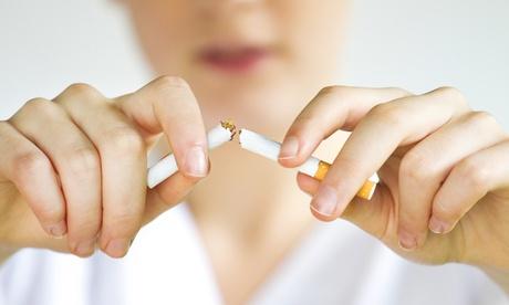 Sesión de láser para dejar de fumar para una o dos personas desde 44,90 € Oferta en Groupon