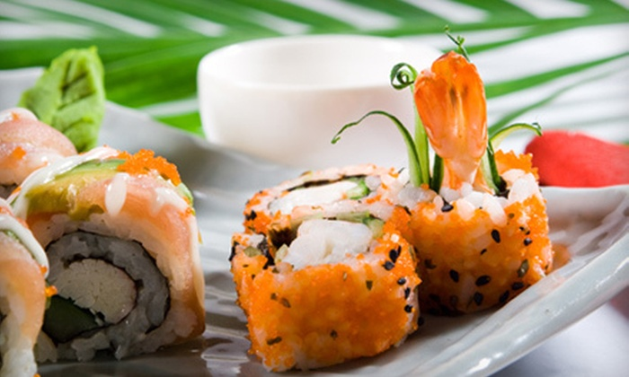 Izumi Sushi Asian Bistro & Lounge - Izumi Sushi Asian Bistro and Lounge: Sushi and Pan-Asian Cuisine for Two or Four at Lunch or Dinner at Izumi Sushi Asian Bistro & Lounge (Half Off)