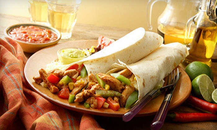 Tink-A-Tako - Multiple Locations: Fajitas and Nachos Meal for Four $10 for $20 Worth of Mexican Food at Tink-A-Tako