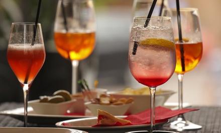 Aperitivo con vino bio, Bergamo centro
