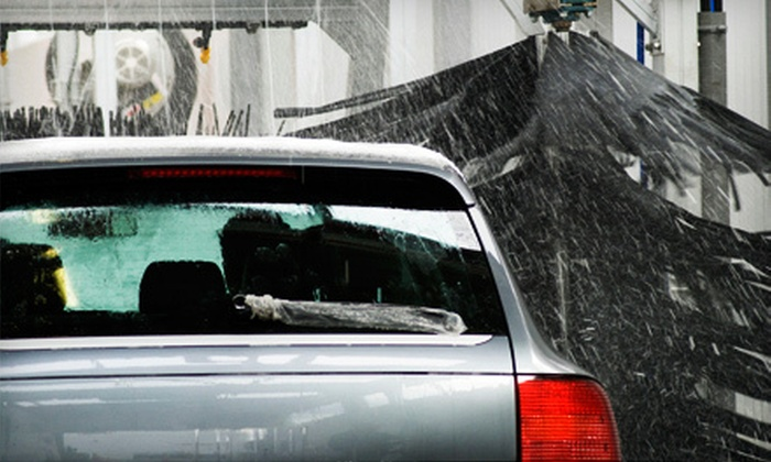 HWB Car Wash - Burbank: Four or Eight Deluxe Car Washes or a Complete Auto Detail at HWB Car Wash (Up to 60% Off)