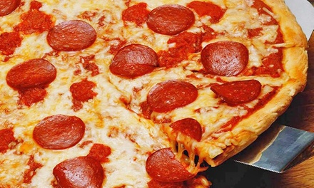 Pizza and Calzones for Dine-In or Takeout or a Pizza Meal at Joyce's Famous Pizza (Up to 50% Off)