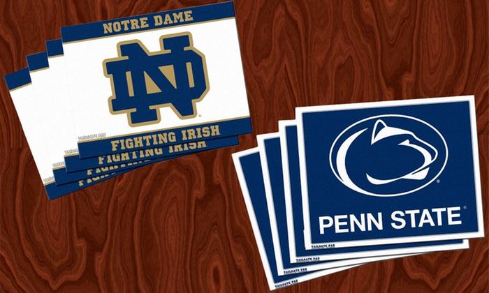 NCAA Placemat Four-Pack: NCAA Placemat Four-Pack. Multiple Teams Available. Free Returns.