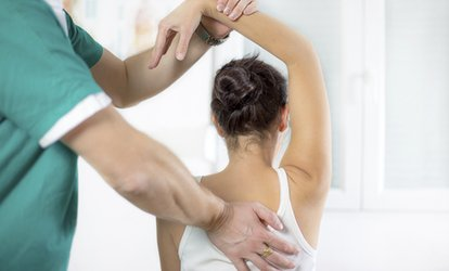 image for Chiropractic Consultation with Two Treatments at Holistic Healthcare Clinics (80% Off)