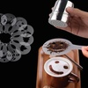 Barista Latte Art Silicone Stencil Set (16-Piece)