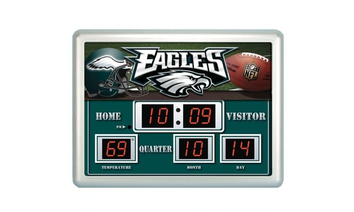 nfl scoreboard wall clock manual