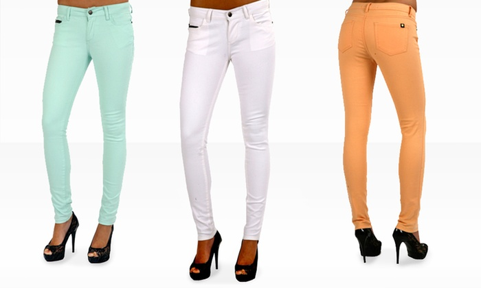 Black Hearts Brigade Jasmine 5-Pocket Skinny Pants: $29.99 for Black Hearts Brigade Jasmine Skinny Pants ($79.99 List Price). Multiple Colors. Free Shipping & Returns.