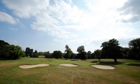18 Holes of Golf for Two or Four at Whitewebbs Park Golf Course (50% Off)