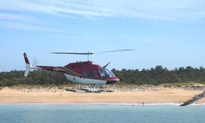 JAC-HELI: Vol en hélicoptère de 10, 15 ou 20 minutes pour 1 ou 2 personnes au départ de Royan ou Rochefort dès 59 € avec JAC-HELI