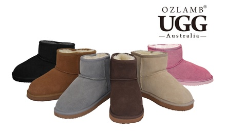 $59 for Ozlamb UGG Unisex Ankle Boots in a Range of Colours and Sizes Don't Pay $199