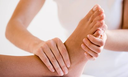image for $35 for <strong>Full-Body</strong> and Foot <strong>Massage</strong> at Relax Station ($65 Value)