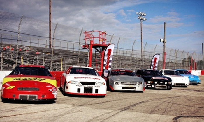 Competition 101 Racing School - Orlando Speedworld: Intro to Stock-Car-Racing School at Competition 101 Racing School (Up to 64% Off). Two Options Available.